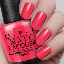 Red OPI Nail Polish